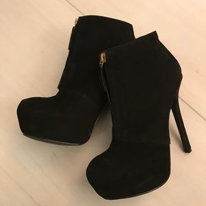 SHOEMINT VIOLA HIGH HEEL BOOTIES